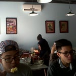 Photo taken at Kopitiam Oey by Corneliuz Willy P. on 10/1/2013