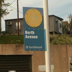 Photo taken at North Avenue Light Rail Station by RAC on 10/17/2012
