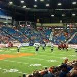 Photo taken at Hartman Arena by Candi on 4/13/2014