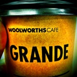 Don't even waste your time anywhere else - best coffee in the house belongs to Woolworths Café on ground floor of Terminal Building. Be sure to get it before you go through airport security.