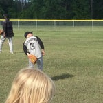 Photo taken at Robert Crawford Baseball Fields by Rosemary J. on 6/3/2013