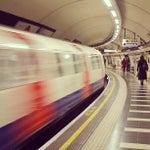 Photo taken at Waterloo London Underground Station by Sir Chandler on 2/4/2013