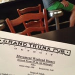 Photo taken at Grand Trunk Pub by Tommy A. on 5/26/2012