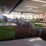 Photo taken at Intuit Bayside Cafe by John B. on 2/13/2013