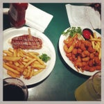 Photo taken at Sizzler by ablackonamac M. on 5/26/2013
