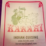 Photo taken at Karahi Indian Cuisine by David B. on 8/23/2013