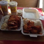Photo taken at L&L Hawaiian Barbecue by Rich W. on 1/24/2014