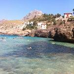 Photo taken at Cala Molins by eSeDeSirena on 7/15/2013