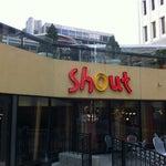 Photo taken at Shout! Restaurant & Lounge by Logan H. on 4/7/2012