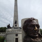 Photo taken at Lincoln Tomb State Historic Site by Laura F. on 6/10/2012