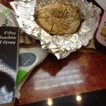 Photo taken at Café Bonjour Deli & Pizza by Kimberly C. on 7/24/2012