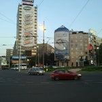 Photo taken at Slavija by Milos M. on 9/12/2011