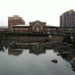 Photo taken at Yonkers Train Station - Metro North & Amtrak by Elahd B. on 12/15/2011