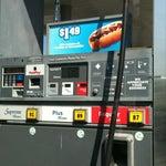 Photo taken at Chevron by Enya H. on 3/9/2012