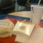 Photo taken at Burger King by Anis F. on 1/21/2012
