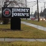Photo taken at Jimmy John's by Christine R. on 1/12/2012