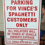 Photo taken at Vince's Spaghetti by TwiggiewoodHD D. on 3/7/2012