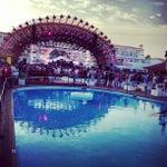 Photo taken at Ushuaïa Ibiza Beach Hotel by Jas S. on 7/21/2012