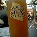 Photo taken at Rock Bottom Restaurant & Brewery by Tracy B. on 8/21/2011