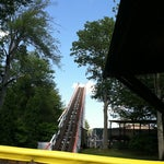 Photo taken at Canobie Yankee Cannon Ball by Kyle G. on 6/18/2011