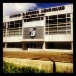 Photo taken at Estádio D. Afonso Henriques by Daniel S. on 4/21/2012