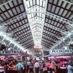 Photo taken at Mercat Central by Luk D. on 8/12/2012