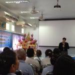 Photo taken at โรงเรียนแย้มสอาดรังสิต by Nu'fern N. on 6/22/2012