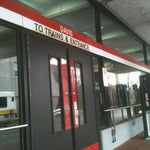 Photo taken at MBTA Davis Square Station by Ira G. on 4/23/2012