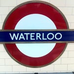 Photo taken at Waterloo London Underground Station by Jens R. on 5/28/2012