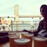 Photo taken at Beekman Beer Garden by Jamie Lee V. on 8/11/2012