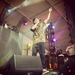 Photo taken at Hangout Music Fest 2012 by Fadia K. on 5/18/2012