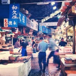 Photo taken at 東京都中央卸売市場 築地市場 (Tsukiji Fish Market) by Mark W. on 5/2/2012