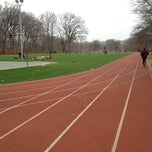 Photo taken at Watsessing Park Running Track by Steve J. on 3/18/2012