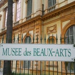 Photo taken at Musée des Beaux-Arts Jules Chéret by FR2DAY on 2/13/2012