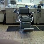 Photo taken at Franks Barber Shop by Billy J. on 2/7/2012