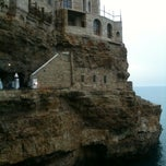 Photo taken at Grotta Palazzese by Fabio G. on 5/20/2012