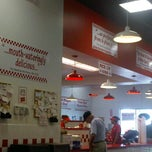 Photo taken at Five Guys by Kathleen M. on 9/19/2011