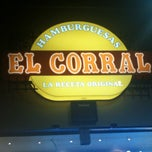 Photo taken at Hamburguesas El Corral by Santiago P. on 8/26/2012