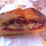 Photo taken at Lenny's Sub Shop by CASSIDYVENTURES on 9/6/2012