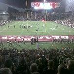 Photo taken at Nippert Stadium by Brice M. on 9/23/2011