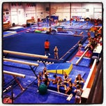Photo taken at Gymquarters Gymnastics Center by LB P. on 8/30/2012