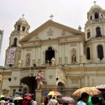 Photo taken at Minor Basilica of The Black Nazarene (Quiapo Church) by Ghellie T. on 6/7/2013