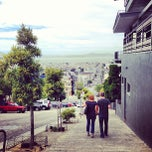 Photo taken at Fillmore Stairs by Laura B. on 8/25/2013