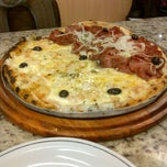 Photo taken at Patroni Pizza by Gabriel N. on 4/6/2013