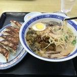 Photo taken at 山川PA by Takaya N. on 4/22/2014