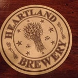 Photo taken at Heartland Brewery by Kerry B. on 11/25/2012