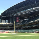 Photo taken at Chase Field by Ricky P. on 6/15/2013