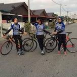 Photo taken at Sepang International Go Kart Track by Hidayah Y. on 5/16/2015
