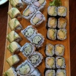 Photo taken at Aloha Sushi by Melody K. on 7/7/2013
