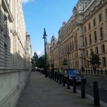 Photo taken at Whitehall Place by Byren I. on 9/21/2014